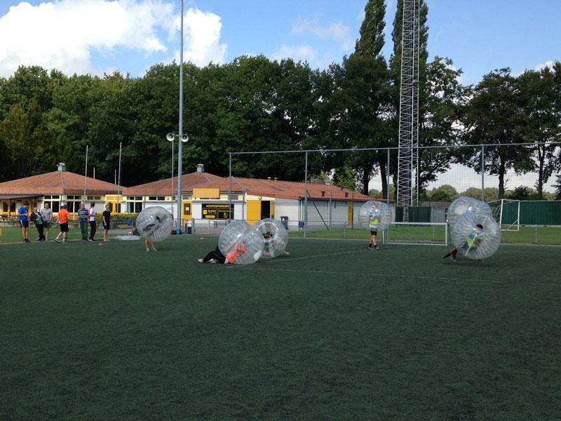 bubbelbal-sportveld